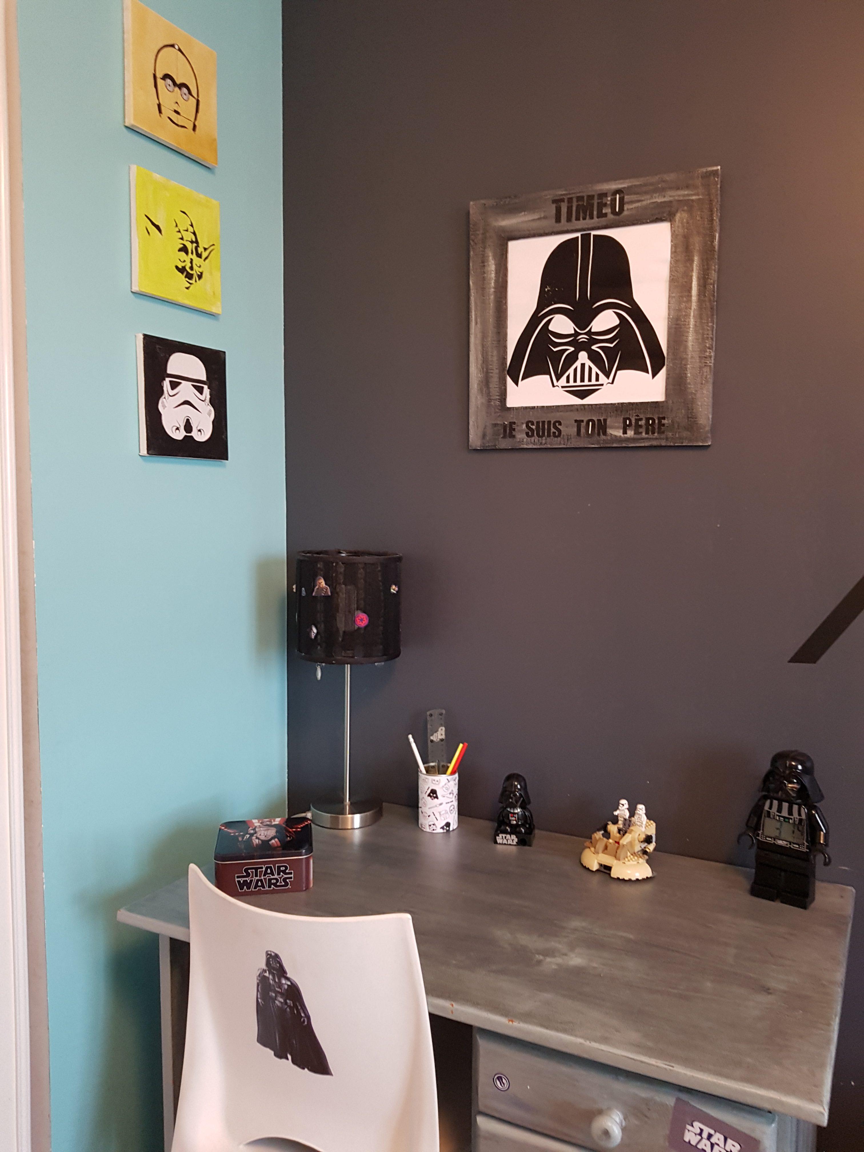 Déco Star Wars pour petit Jedi - Le blog de Madame Rêve